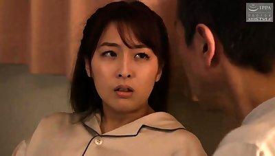 Japanese milf blowjob boobs nipple rub down
