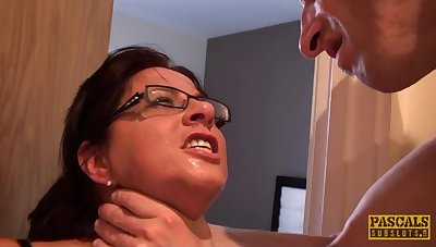 sultry old woman Amber Rodgers rough sex