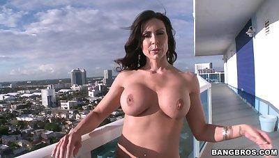 Hardcore group sexual congress respecting desirable MILF Nikki Delano and her associates
