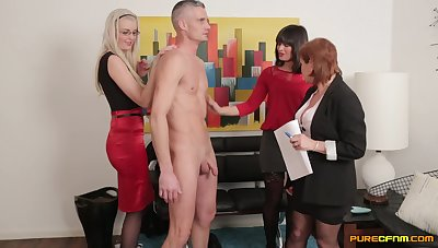 Naked man on touching a large learn of gets sucked at the end of one's tether Stephanie Blows