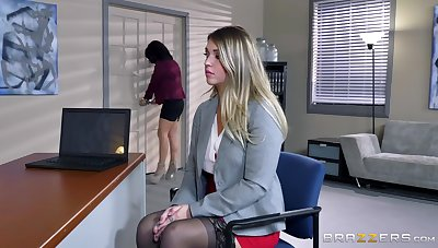 Two naked females here hot office lezzie porn with big toys