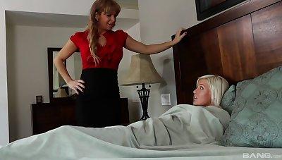 Jenna Caucasian and Alyssa Lynn are thanatopsis a lesbian recreation